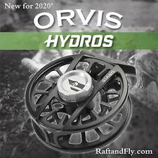 Orvis Hydros IV Fly Reel 7-9wt Black - (New 2020 Model) - FREE SHIPPING
