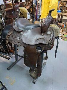 """16"""" Tex Tan Western Saddle"""