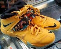 "Nike LeBron Soldier VII ""Pop Art"" 5 599264-800 SIZE 12"