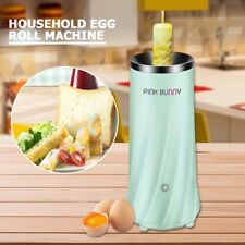 Egg Roll Machine Automatic Portable Stainless Steel Omelette Steamer Kitchen Use