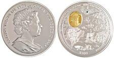 2004 $500 Hernando Pizarro 5 Kilo Silver Coin British Virgin Island