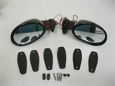 CALIFORNIA STYLE SIDE MIRRORS WITH BUILT IN LED TURN SIGNALS STREET ROD HOT ROD