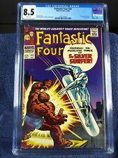 Fantastic Four #55, CGC 8.5, WHITE pages, 1966, new slab