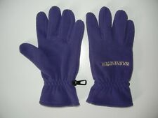 Nike WASHINGTON HUSKIES UW College Football FLEECE GLOVES Warm Sz Men's MEDIUM