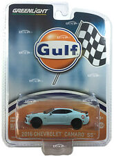 2016 CHEVROLET CAMARO SS GULF OIL HOBBY EXCLUSIVE 1/64 BY GREENLIGHT 51059