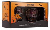 Yankee Candle Halloween Gift Set Spider Web Votive Holder & Sampler Accessories