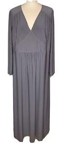 Joanna Hope Ladies Grey Maxi  Dress Size UK 24 (J3)