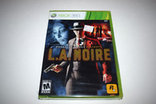 L.A. Noire Microsoft Xbox 360 Video Game New Sealed