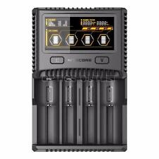 Nitecore SC4 Superb Charger Universal 4-Slot Charger for Li-ion/IMR Batteries