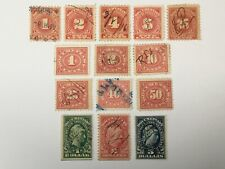 old stamps USA x 14 documentary
