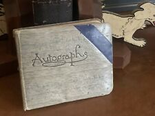 More details for 1930's autograph book, incl. sir malcolm campbell + famous aviators & film stars