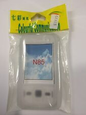Nokia N85 Slide Silicon Case in Clear White SCC4386. Brand New in packaging.