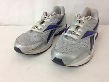 5cbe1d98226 Reebok DMX Ride Womens 8 1 2 Silver Purple Running Walking Sneakers Shoes