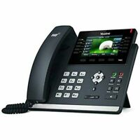 Yealink SIP-T46S IP Phone Black Wired Handset LCD 16 Rows New