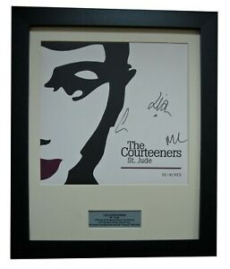 COURTEENERS+SIGNED+FRAMED+ST. JUDE+NINETEEN=100% AUTHENTIC+EXPRESS GLOBAL SHIP