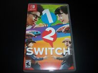 Replacement Case (NO GAME) 1 2 Switch One Two Nintendo Switch Box Original