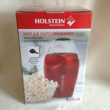 NEW Hot Air Popcorn Maker Popper Holstein Housewares Measuring Spoon Included