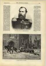1878 Snowplough In Saxony Grand Duke Of Hesse Darmstadt
