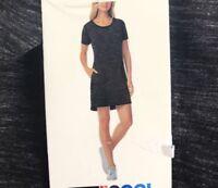 32 Degrees Cool Women's Dress, Black Space Dye, Size S, NWT