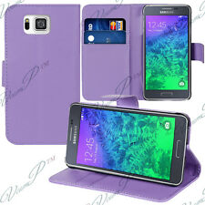 Etui Coque Housse Portefeuille Video VIOLET Samsung Galaxy Alpha/ Alfa SM-G850FQ