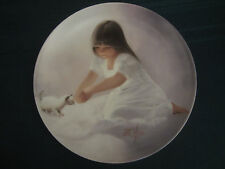 TENDER BEGINNING collector plate DONALD ZOLAN Kitten Cat CHILDREN AND PETS