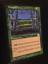 MTG MAGIC WEATHERLIGHT TRANQUIL GROOVE (ENGLISH BOSQUET TRANQUILLE) NM