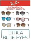 Occhiali da Sole RAYBAN RB4274 NEW ERIKA COLORFUL Sunglasses Ray Ban Gafas sol