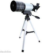 New F30070M Monocular Professional Space Astronomic Telescope with Tripod Gift