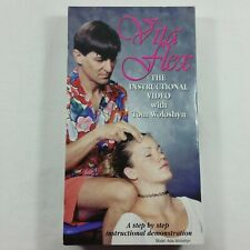 Vita Flex Instructional Video Tom Woloshyn VTG Reflex Points VHS VCR Massage