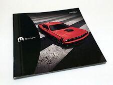2016 Mopar Dodge Challenger Accessories Brochure