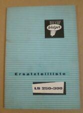 Welger Miststreuer LS250 - LS300 Ersatzteilkatalog