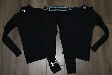 Lot 3 Boy's UNDER ARMOUR Compression Base Layer Mocks Fitted Legging YSM Small 8