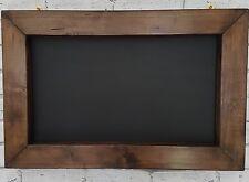 HANDMADE CHUNKY VINTAGE CHIC RUSTIC  WOODEN CHALKBOARD MEMO BOARD BLACKBOARD