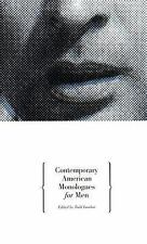 Contemporary American Monologues for Men