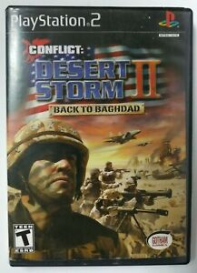 PS2 Conflict:Desert Storm II - Back to Baghdad (Sony PlayStation 2) Complete