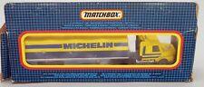 Matchbox Scania T142 Semi Truck Lorry Michelin Tires c.1987 1:90 Scale