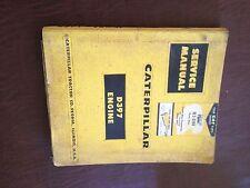 CATERPILLAR CAT D337 DIESEL INDUSTRIAL ENGINE MARINE SERVICE MANUAL 42B 41B