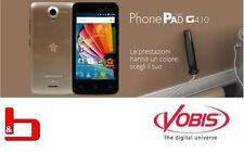 SmartPhone Dual Sim Mediacom PhonePad G410 COLORE GOLD - M-PPCG410