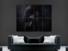 DARTH VADER STAR WARS ART WALL LARGE IMAGE GIANT POSTER ""