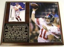Eli Manning #10 New York Giants Legend NFL Photo Plaque Super Bowl XLVI Champion