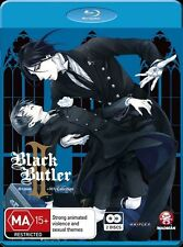 Black Butler II (Kuroshitsuji II) Season 2 + Ova Collection NEW B Region Blu Ray