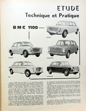 1964-8 AUSTIN 1100 CM3 MORRIS MG INNOCENTTI PRINCESS  REVUE TECHNIQUE RTA