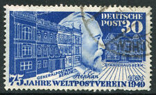 GERMANY - # 669  F-VF Used Issue - HEINRICH VON STEPHAN GPO GUILD HOUSE - S5620