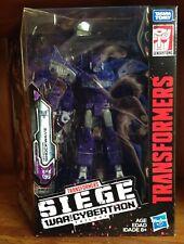 New Transformers Siege War For Cybertron Leader Class Shockwave MISB