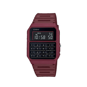 Casio CA53WF-4 Watch Red Calculator Retro Vintage Casual Digital Warranty CA53