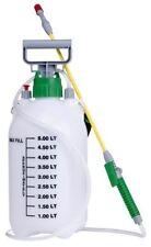 5L WATER PRESSURE SPRAYER MANUAL GARDEN SPRAY KNAPSACK KILL WEEDS CHEMICALS