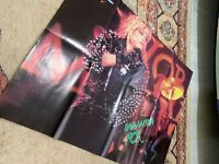 SAMANTHA FOX UNITED COLORS OF BENETTON Turkish Magazine GIFT POSTER EXTREME RARE