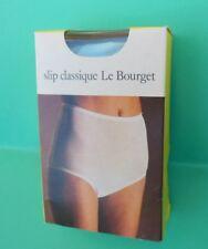 """Ancien slip vintage pour femme """" Le Bourget """" taille 3, linge ancien"""