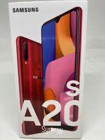"""SAMSUNG GALAXY  A20s SM-A207M/DS Dual Sim  UNLOCKED) 6.5"""" 32GB 3GB RAM RED"""