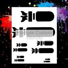 Bombs Away 01 Airbrush Stencil,Template